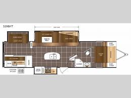 Lacrosse Rv Floor Plans | lacrosse 329bht travel trailer