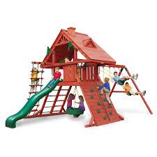 swing n slide jamboree fort play set hayneedle