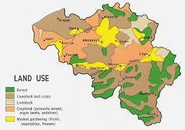 physical map of belgium belgium country map