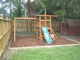 Backyard Swing Set Ideas Backyard Swing Set Ideas New Fabulous Playground Sets For