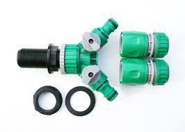 3 4bsp tank adapter u0026twin snap on garden hose connectors c w 2