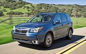 subaru forester black 2014 subaru forester 2 5i limited xt first test truck trend