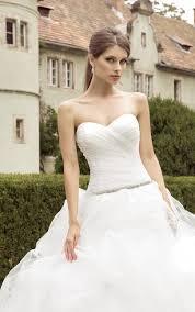cheap organza ball gown bridal dresses organza ruffled wedding