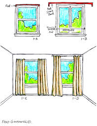 how long should curtains be curtain how far below the window sill should curtains hang how