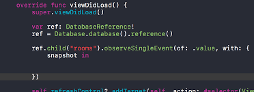 ios get a database reference in the new firebase 4 0 release