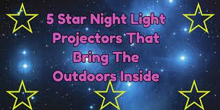 Rotating Night Light Projector Star Night Light Projector Totally Cool Picks