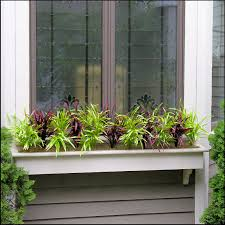 Plants And Planters by Filling Window Boxes With Artificial Outdoor Plants Artificial