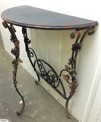 Shabby Chic Hall Table by Iron Rose Shabby Chic Industrial Hall Table Console Table U2013 Home