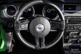 mustang steering wheels 2010 2014 mustang carbon fiber lg112 steering inserts v6 gt gt500