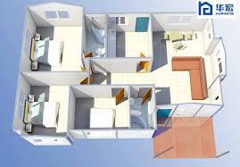 Construction prefabricated modern house design houses for sale in India