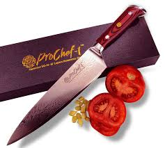 review professional 8 inch chefs knife by prochef1 67 layer vg10