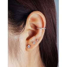 best earrings for cartilage the edgy cartilage piercing 60 best ideas 2018