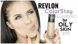 revlon colorstay foundation for oily skin first impression
