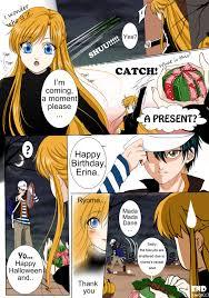 happy halloween and happy birthday erina by stilldollsawaii on