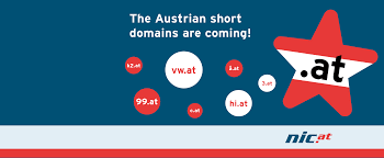 at the new austrian short domains are coming