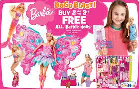 barbie doll coupon b2g1 barbie sale toys fri u0026 sat
