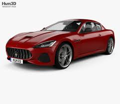 maserati models maserati granturismo sport 2012 3d model hum3d