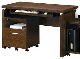 office desk with adjustable keyboard tray coaster contemporary computer workstation office desk table coaster