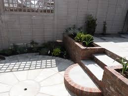 Sloped Garden Design Ideas A Small Sloping Garden In Letchworth Garden City