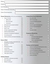 induction checklist researcher development the university of