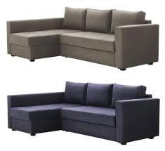 Corner Sofa Chaise Ikea Manstad Corner Sofa Bed With Chaise Longue And Storage Gobo