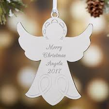 personalized silver ornaments
