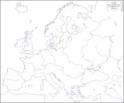 Blank Maps Of Europe by Europe Free Map Free Blank Map Free Outline Map Free Base Map