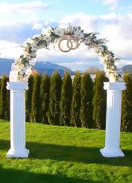 wedding arches for rent toronto best 25 wedding columns ideas on christmas wedding