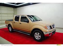 gold nissan car 2005 desert gold metallic nissan frontier se crew cab 4430534