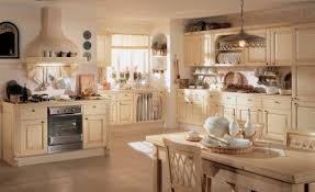 classic kitchen cabinets recessed ceiling lights wall floating