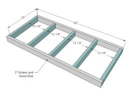 Platform Bed Woodworking Plans Diy Pedestal by Ana White Sausha U0027s Washer Dryer Pedestals Diy Projects
