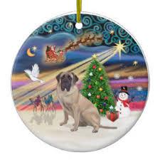 mastiff ornaments keepsake ornaments zazzle