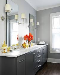 best sherwin williams gray paint colors for modern bathroom with