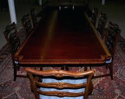Mahogany Dining Room Table And 8 Chairs Mahogany Dining Room Table And 8 Chairs Banded Inlaid Modern