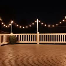 Patio Deck Lighting Ideas Best 25 Outdoor Deck Lighting Ideas On Pinterest 重庆幸运农场倍