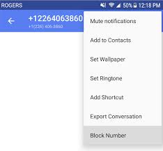how do i block text messages on my android phone how to block and unblock phone calls or text messages textnow