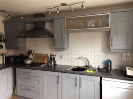 best paint for kitchen units uk reveals how she reved entire kitchen for just 38
