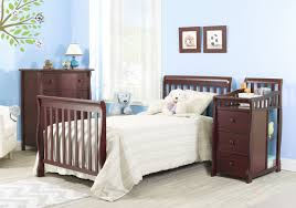 Crib That Converts To Twin Bed by Sorelle Newport 2 In 1 Convertible Mini Crib U0026 Changer U0026 Reviews