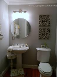 powder room decorating ideas for your bathroom camer design my powder room decorating makeover for less than 15 bystephanielynn