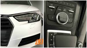 audi a4 2016 interior first clear photos of 2016 audi a4 b9 show headlights interior