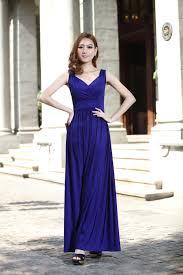 royal blue long prom dress wedding bridesmaid dresses evening