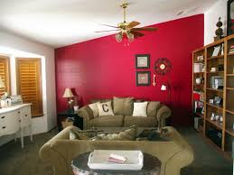 decorating astounding interior house with red wall cool colors