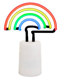 Neon Lights Home Decor Rainbow Neon Light Sunnylife Home Gifts Home Decor Rainbow