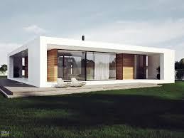 single story modern house plans modern plan single storey house stylish design white facade home