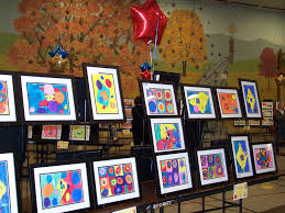 art show display ideas brightest crayon in the blog art