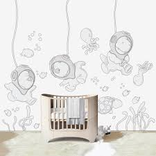 submarine world wall decal for kids u0027 room u2013 bubbles and bubbles