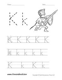 letter k worksheet tim u0027s printables