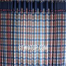 Navy Blue Plaid Curtains Adorable Navy Blue Plaid Curtains Ideas With Blue And