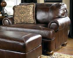 leather chair and a half with ottoman and a half leather chair and ottoman with a half pottery barn chair