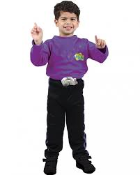 the wiggles lachy purple dress up costume 3 5 yrs